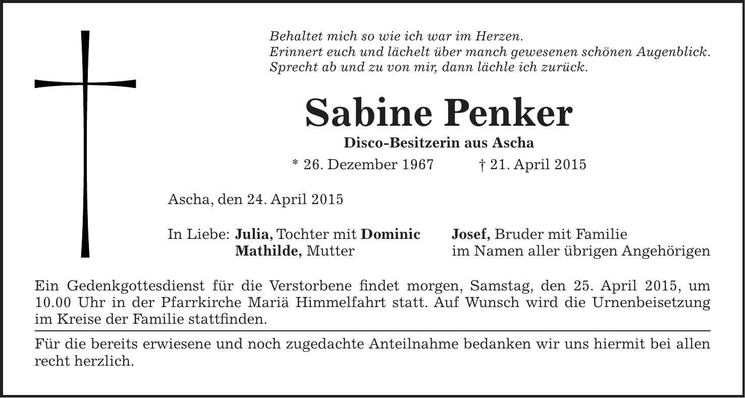 Sabine Penker