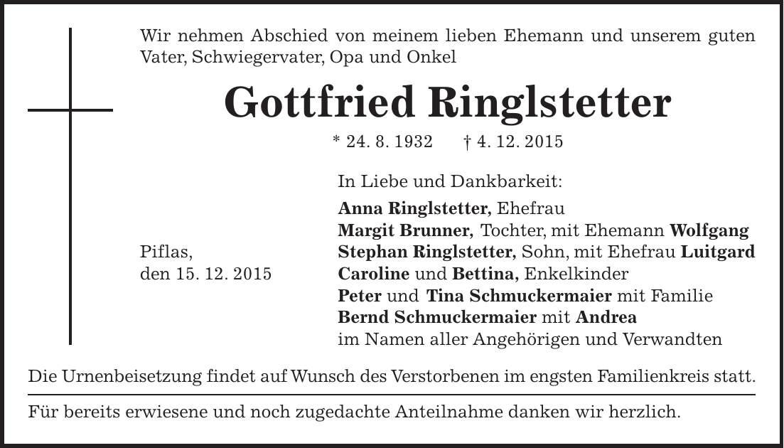Mit Wem Ist Hannes Ringlstetter Verheiratet