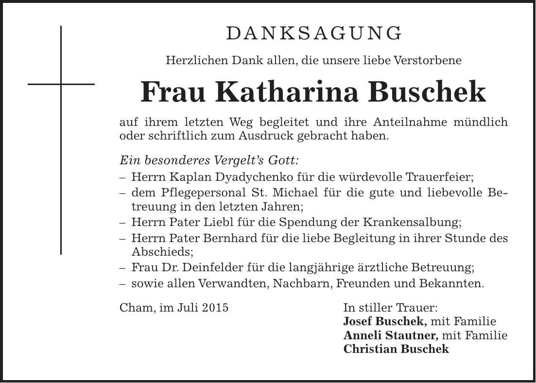 Buschek Cham