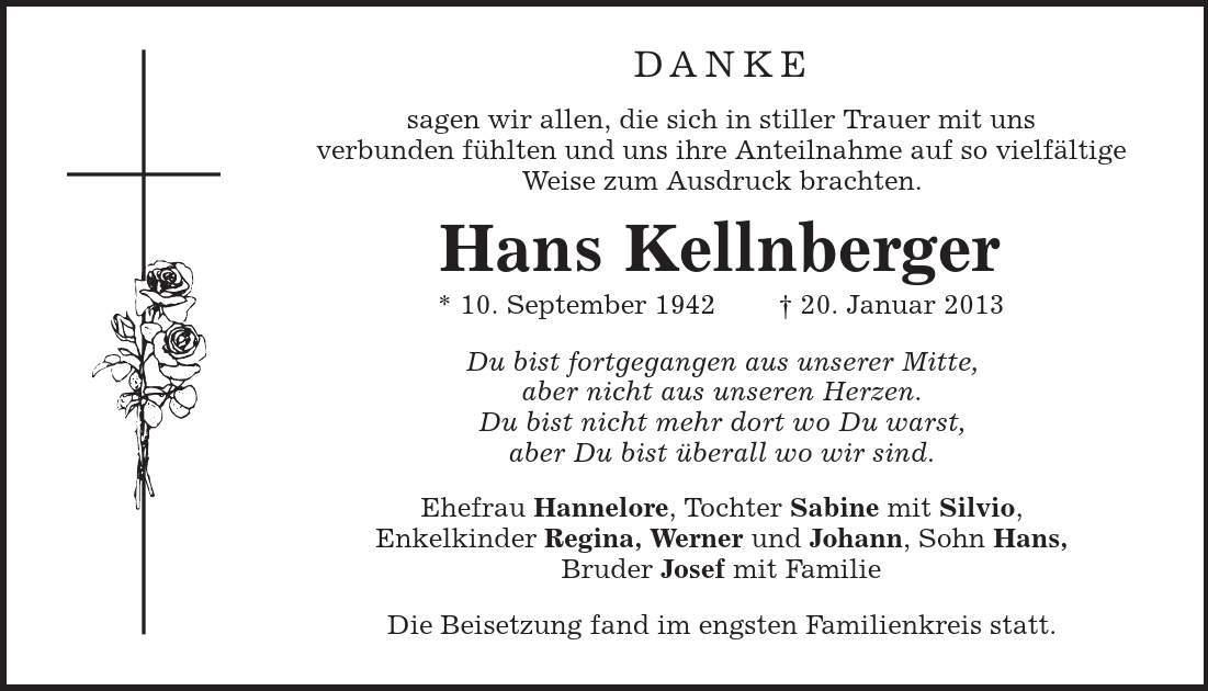 Todesanzeigen Neubrandenburg