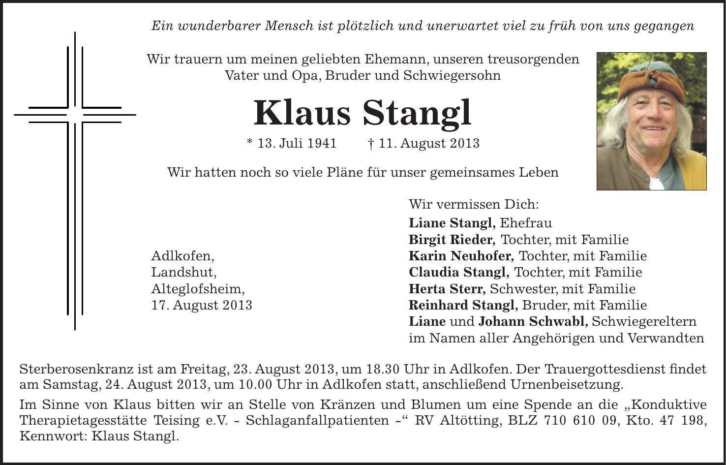 Birgit Klaus Verheiratet