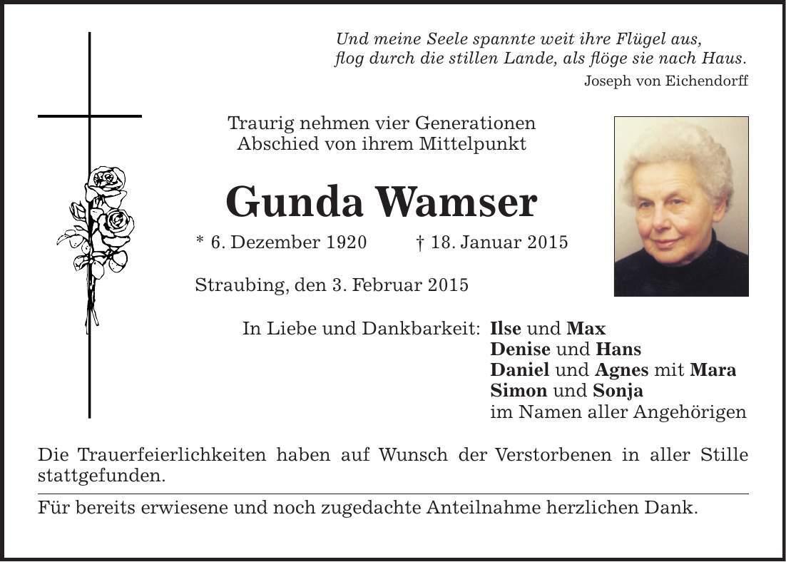 Nürnberger Nachrichten Traueranzeigen Suchen