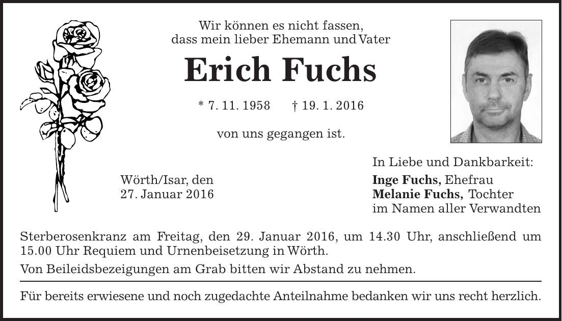 Todesanzeige Offenbach Post