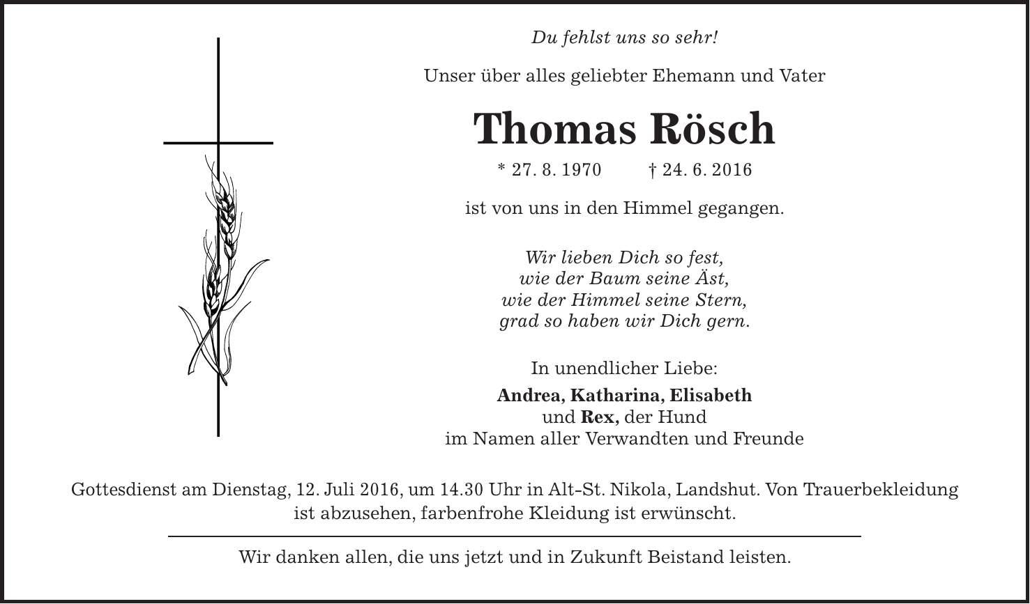 Thomas Rösch Landshut