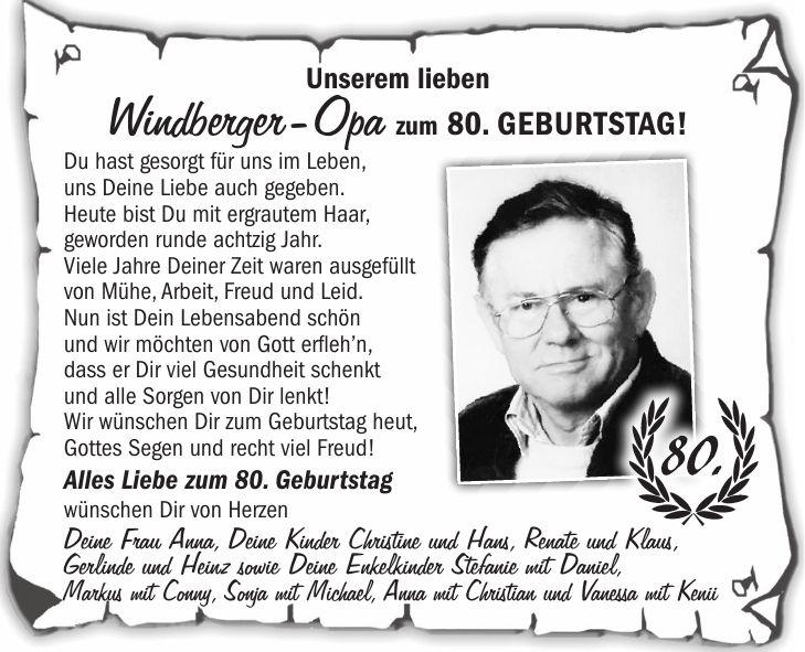 Gedicht Zum 80 Gluckwunsche Zum 80 Geburtstag Ohne Langes
