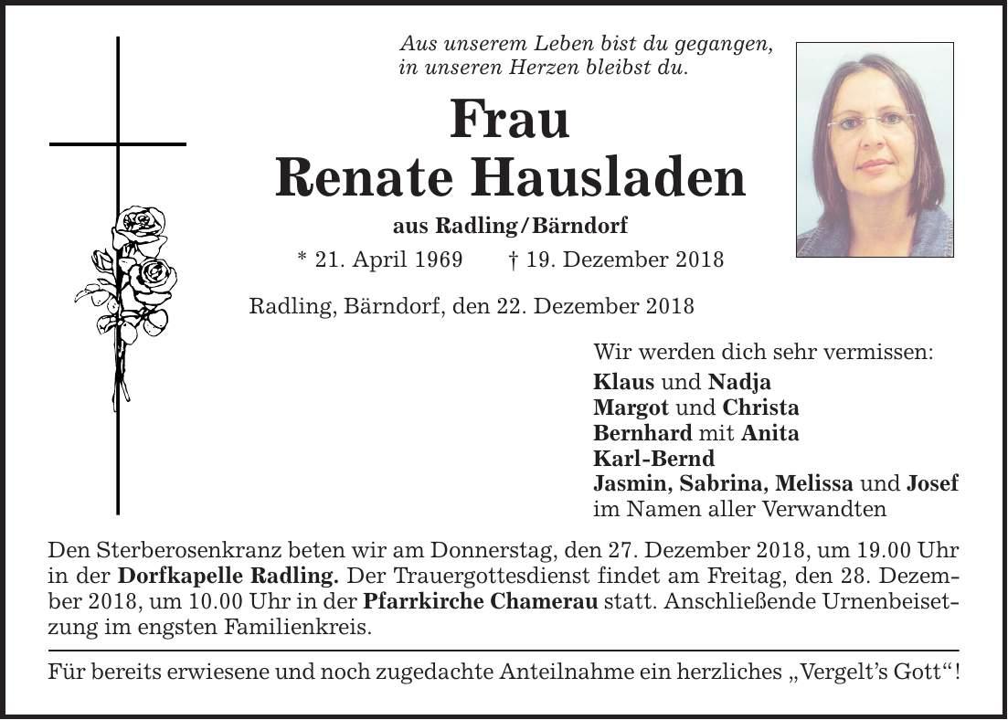 Hallertauer Zeitung Todesanzeigen Mainburg