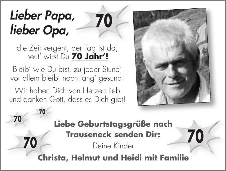 Geburtstagswunsche Spruche Fur Opa Zum Geburtstag