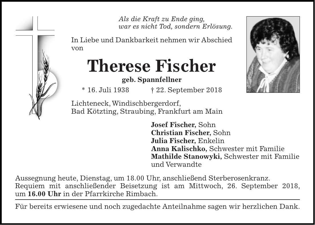 Anna Fischer Schwester