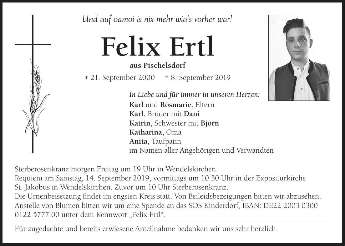 Mz Regensburg Todesanzeigen