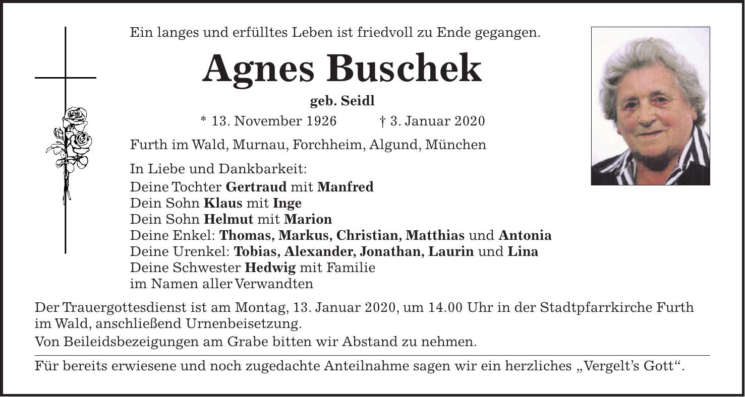 Murnauer tagblatt traueranzeigen | Nachrichten aus der ...